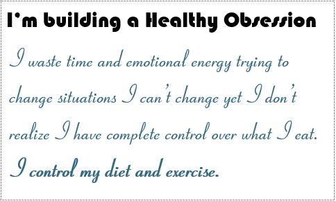 i control my diet