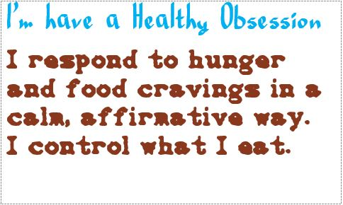 obsession respond to hunger