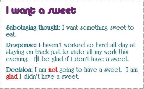 response i want a sweet