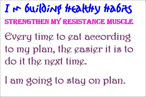 habits strengthen resistance muscle