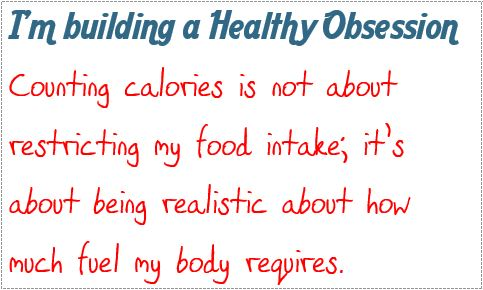obsession counting calories