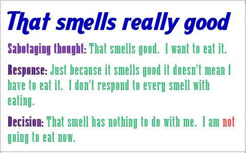 response that smells good